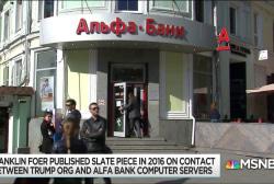 Media too quick to dismiss Trump/Alfa Bank server contact story