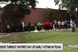 Early voting turnout setting records