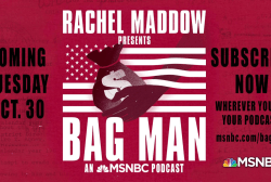 'Bag Man' tops Apple podcast list ahead of Tuesday's launch