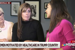 Women in Trump country organize over health care