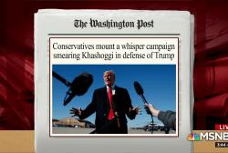 'Sleaze merchants' work to smear Khashoggi
