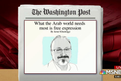 Post publishes last Khashoggi op-ed before disappearance