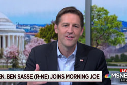 Sen. Sasse takes on tribalism and loneliness in book