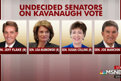 Senators weigh Kavanaugh vote after FBI finishes report