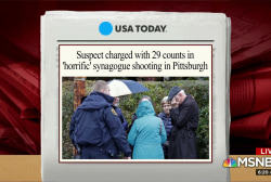 Pittsburgh shooting suspect due in court Monday