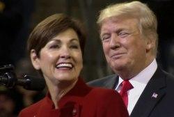 Republicans trail in Iowa polling