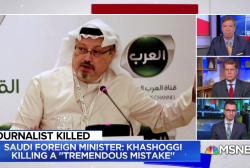 Fmr. Ambassador: Saudi cover-up 'not believable at all'