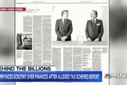 Trump biographer: No Evidence President Trump is a billionaire