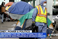 Proposed tax on tech titans to help CA homeless sparks debate