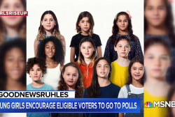 #GoodNewsRUHLES: 'Girls Rise Up' motivating people to vote