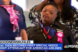 #GoodNewsRUHLES: Special needs teen becomes flight attendant