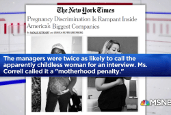 One More Thing: Pregnancy discrimination in America