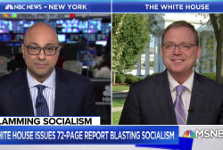 White House economist on markets: 'Random walk from day to day'