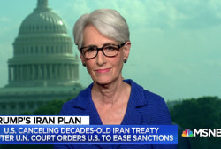 Amb. Wendy Sherman: 'Not surprising' U.S. ends treaty with Iran
