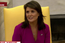 U.N. Ambassador Nikki Haley to leave post at the end of the year