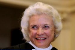 Ret. Supreme Court Justice Sandra Day O'Connor diagnosed with dementia