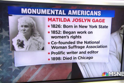 #MonumentalAmerican: Legendary suffragist Matilda Joslyn Gage