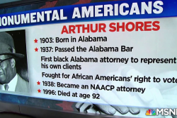#MonumentalAmerican: Racial equality attorney who faced violence