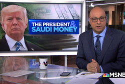 President Trump's financial history with Saudi Arabia
