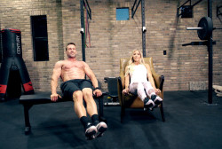 Heavyweight business stars: Chris & Heidi Powell
