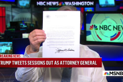 President Trump tweets that AG Jeff Sessions has resigned