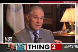 Scott Pruitt's Trump TV friends gave him questions