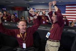 NASA spacecraft lands on Mars