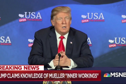 Trump attacks Mueller, says he knows Russia probe 'inner workings'