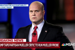 Fmr. Russia probe boss: Whitaker could trigger 'ethics civil war'