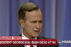 Fmr. Pres. George H.W. Bush dies at the age of 94
