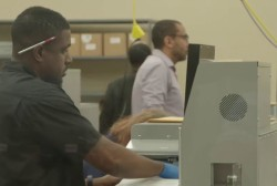 Palm Beach voting machines overheat, forcing another recount