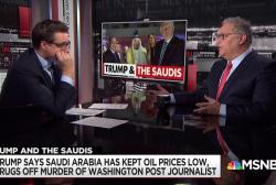 Trump links cheap oil, Saudis and Khashoggi murder