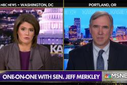 Sen. Merkley: We're seeing 'equivalent' of Saturday Night Massacre 'in slow motion'