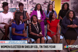 Huge, new wave of women of color elected in Shelby County, TN