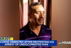 Undocumented man detained by ICE as protesters supporting him arrested