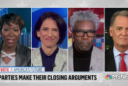 Joy Reid and expert guests discuss Nancy Pelosi's prediction Democrats will win