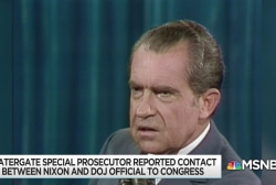 Watergate 'road map' shows Nixon overstepping on investigation