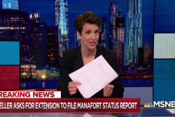 Extension request offers another peek at Mueller's planning