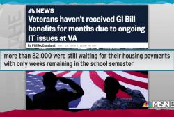 VA failing to deliver GI Bill benefits as veterans' bills pile up
