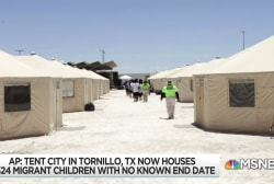 Trump 'temporary' detention camp for immigrant kids still growing