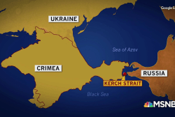 Russia extends belligerence toward Ukraine with aggression at sea