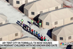 No end set for immigrant kids' internment at 'temporary' camp