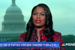 Omarosa talks potential White House staffing shake up