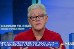 Former Obama EPA Administrator on climate concerns & President Trump's policy