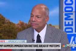 Former Homeland Security Secy.: Trump WH hasn't spelled out why thousands of troops are needed at the border