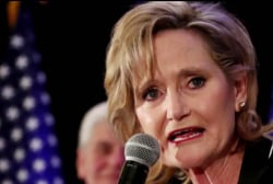 Hyde-Smith gets 'big turnout,' wins Senate contest