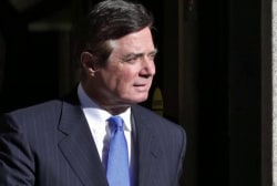 Is the president dangling a pardon for Manafort?