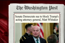 Senate Dems sue over Whitaker appointment