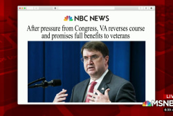 Congress pushes VA to reverse course on benefits