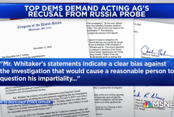 Dems fight to save Mueller probe, claim acting AG Whitaker is biased